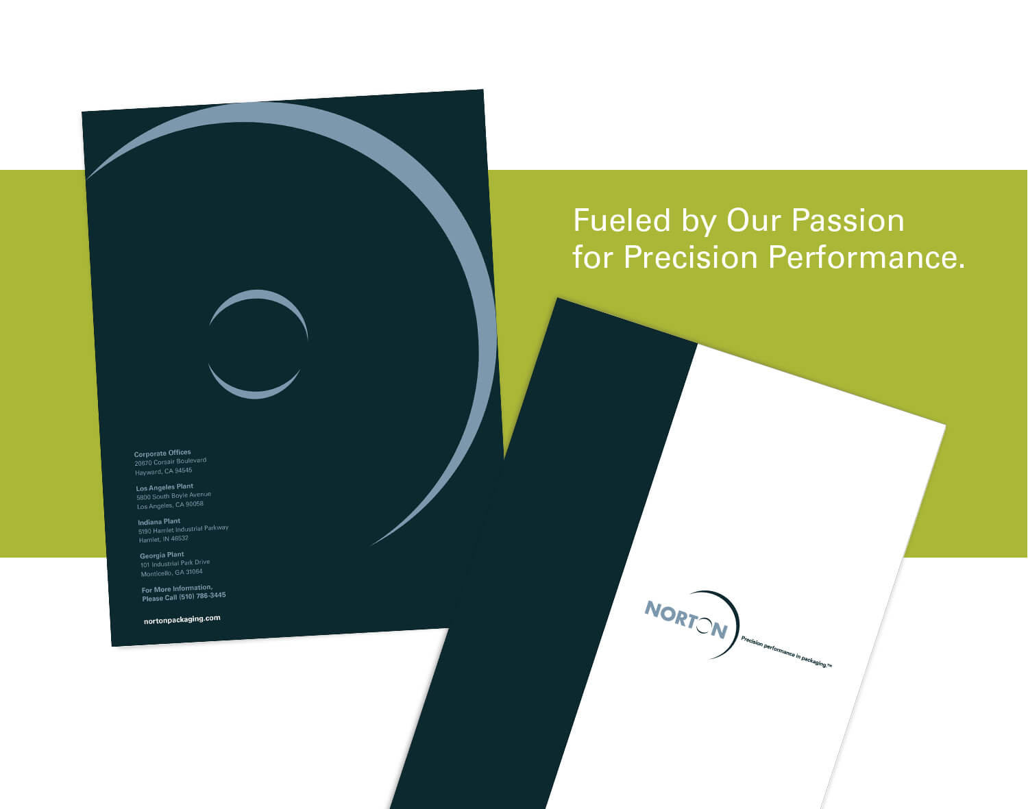 Norton Packaging presentation folder